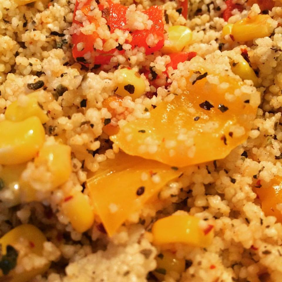 how to cook red couscous